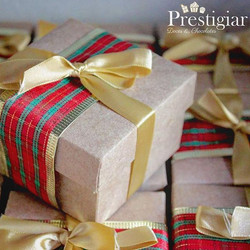 🎅🎁🎄 Nossas caixinhas com alfajor fizeram o maior sucesso!  Quem recebeu amou e quem entregou tb!
