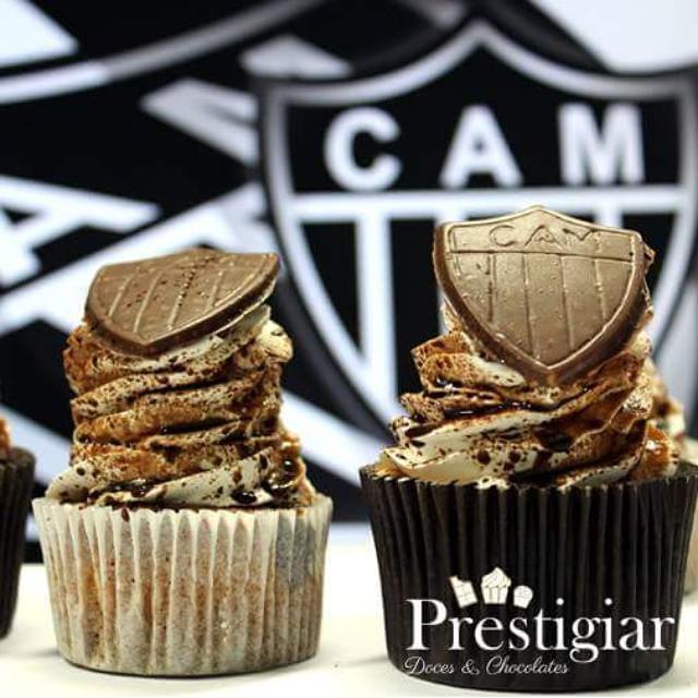 Cupcakes para um pequeno atleticano