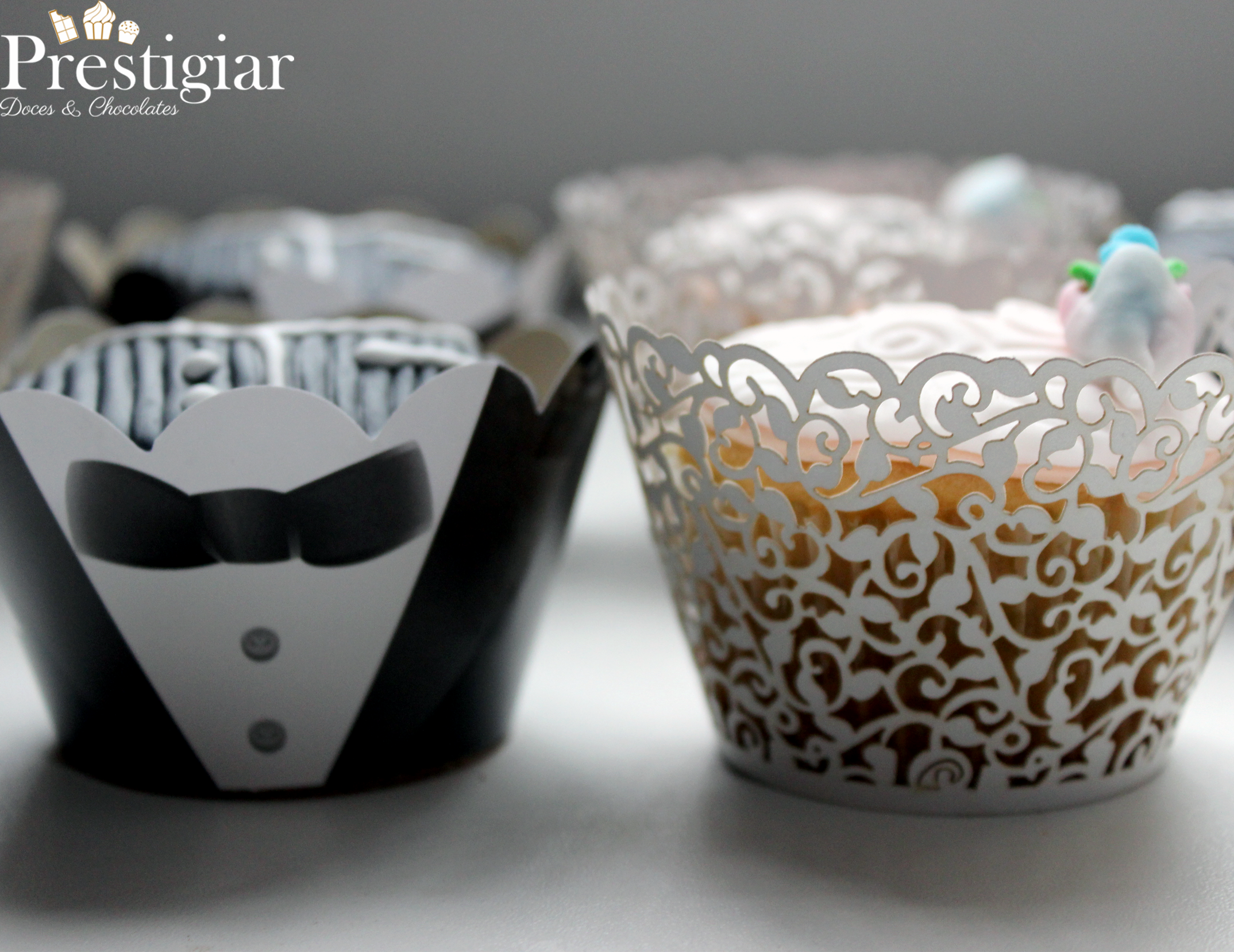 Casamento Gabi - cupcakes