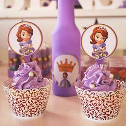 👸👑👗💜 Domingo foi a vez da princesa Duda completar mais um ano de vida. E vejam que lindos ficara