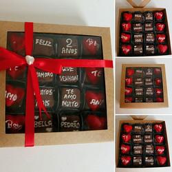 😍💏💕💑A nossa cliente _Isabella_mirandac escolheu #Prestigiar seu namorado com essa linda caixa de