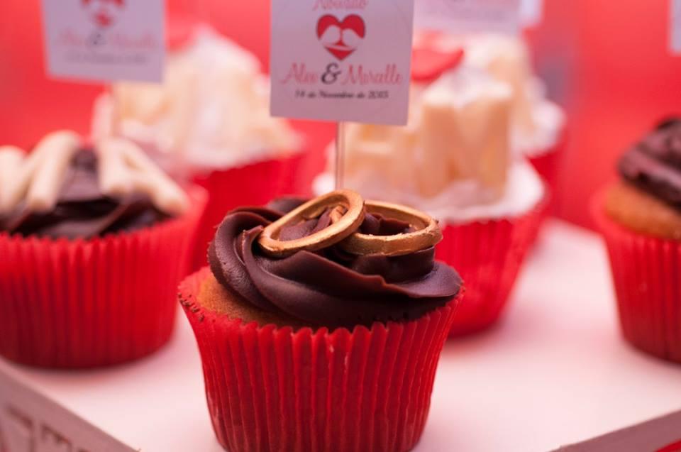 Cupcakes noivado