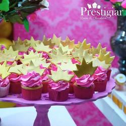 👸👑 Cupcakes para festa da princesa Luna
