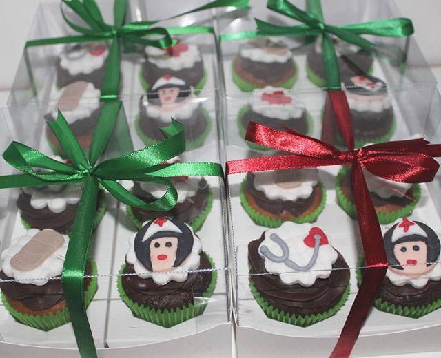 Nossa cliente _manuestrelab encomendou esse kit de cupcakes para #Prestigiar suas professoras do cur