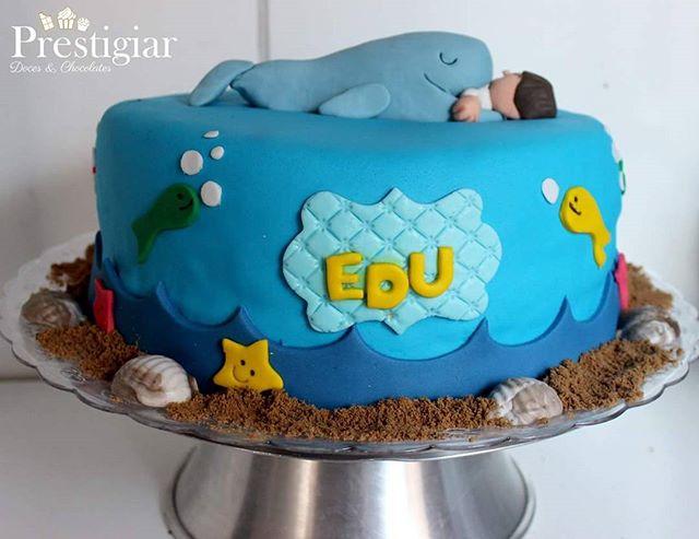 🐟🐠⛵👱O pequeno Edu completou 5 anos e para comemorar a passagem do seu aniversário ele queria um b
