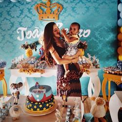 Sábado foi o dia de comemorar o aniversário do pequeno príncipe João Pedro