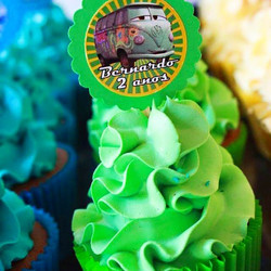 Cupcakes temáticos Carros #Filmore #Prestigiar #Nanádoavesso #carros #cars #cupcakes #disney