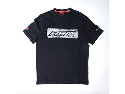 T-shirt RST Logo noir/gris