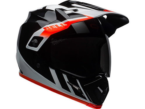 Casque BELL MX-9 Adventure Noir/Blanc/Orange