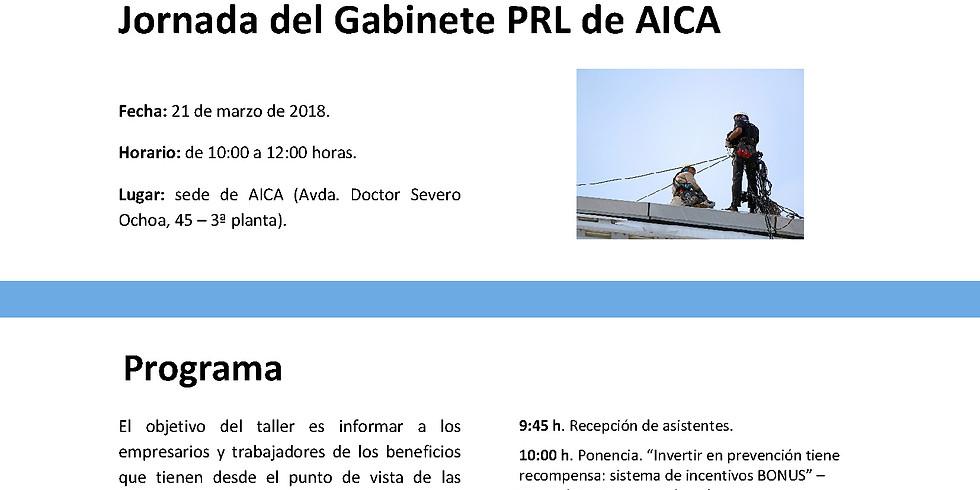 """Taller PRL AICA: """"Buenas prácticas de las mutuas para mejorar el bienestar laboral en la empresa"""""""