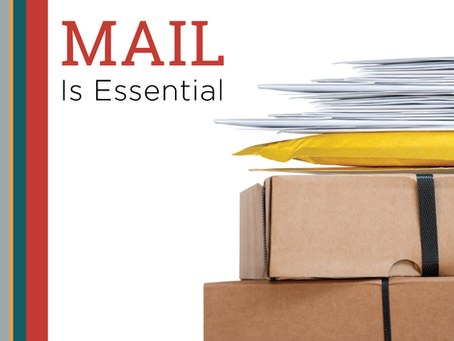 Mail is Essential - A USPS Update