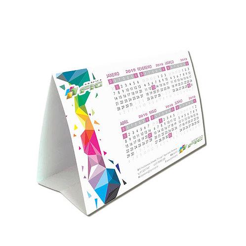 Calendário de Mesa Mini Reciclato 240g