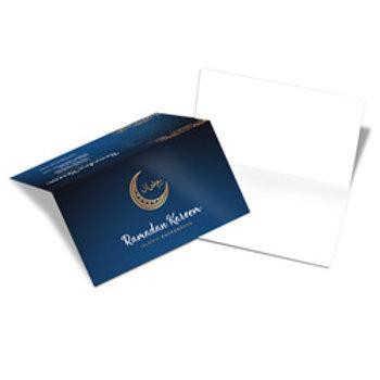 Cartão duplo com Vinco 4x0 300g