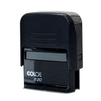 Carimbo 14x36mm em Plástico