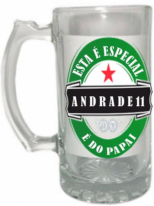Caneca Chopp vidro