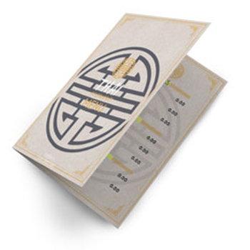Cardápio Reciclato 240g - Sem Verniz A3 1 ou 2 Vincos