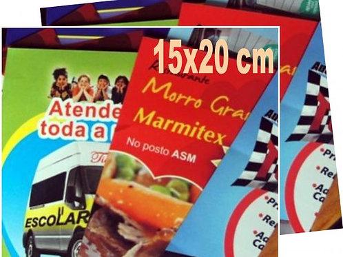 Panfletos 15x20 Frente