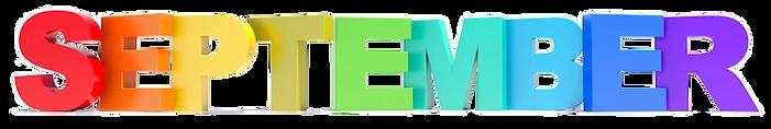 september-calendar-month-colored-letters
