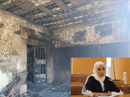El MDyC solicita que el Ejecutivo local asuma las obras del edificio incendiado en Juan Carlos I