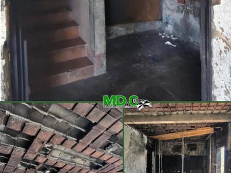 El MDyC solicita al Consejero de Fomento una solución para el edificio incendiado en Juan Carlos I