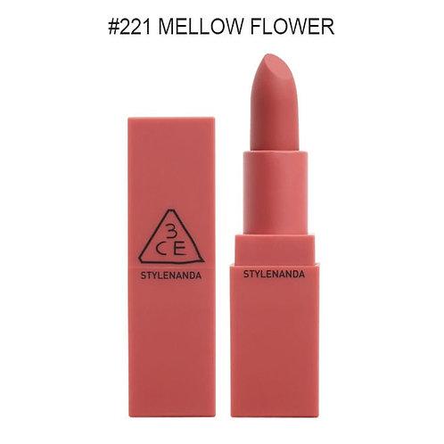 [3CE]MOOD RECIPE MATT LIP COLOR #221 MELLOW FLOWER