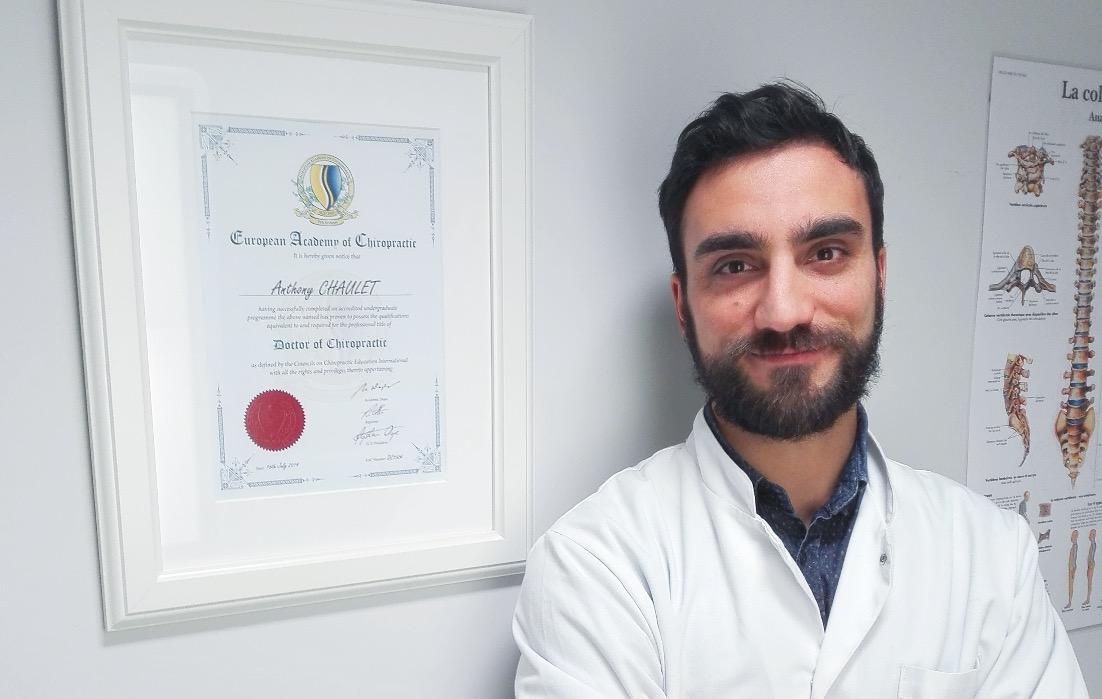 Anthony Chaulet chiropracteur