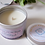 ribbon wick candle by Candle Crafts Belper Derbyshire