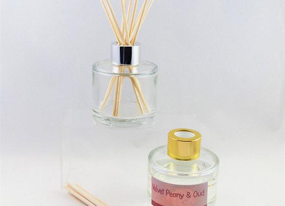 velvet peony & oud reed diffuser home fragrance