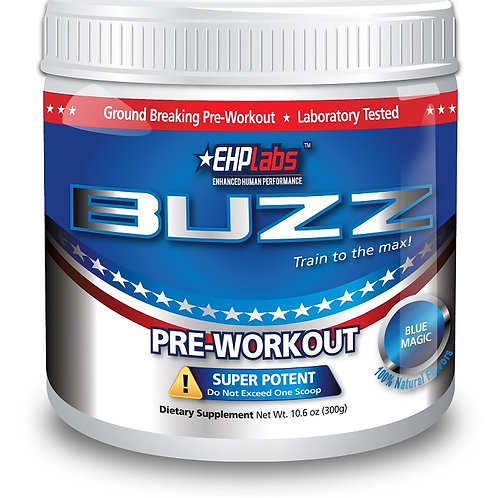 Buzz Pre-workout Raging Red Raspberry 30 Serves