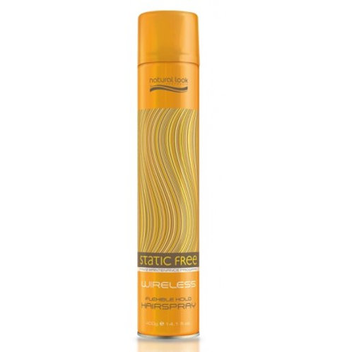 NATURAL LOOK STATIC FREE WIRELESS HAIRSPRAY 100g