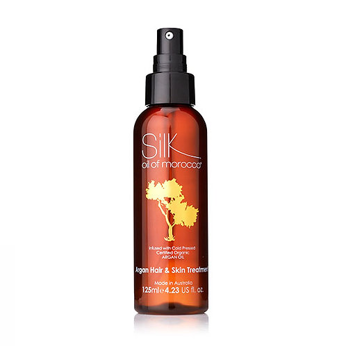Silk Oil of Morocco Hair and Skin Treatment 125ml