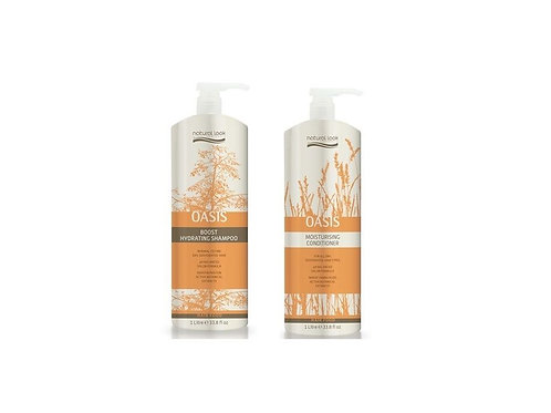 Natural Look Oasis Hydrating Shampoo & Conditioner