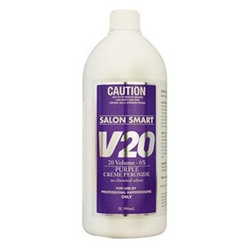 Salon Smart Creme Purple Peroxide 990mL 20 Vol 6%
