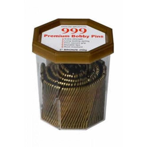 "999 Bronze Bobby Pins 3"" 250g"