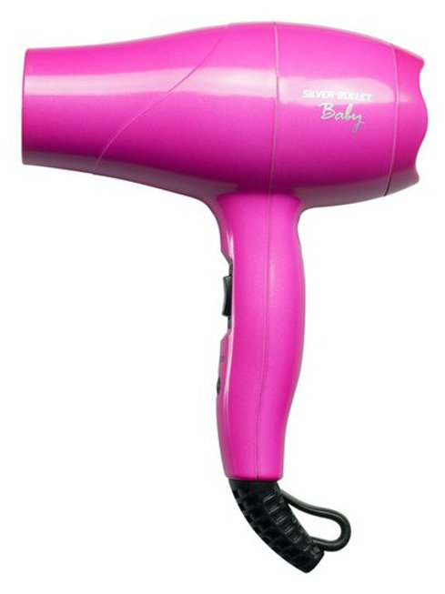 Silver Bullet Baby Travel Hair Dryer Pink
