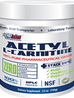 EHP LABS Acetyl L-Carnitine 100 Serves