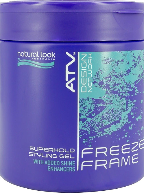 NATURAL LOOK Freeze Frame Superhold Styling Gel
