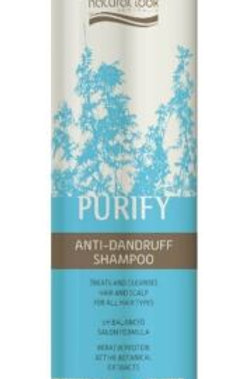 Natural Look Purify Anti-Dandruff Shampoo 375ml