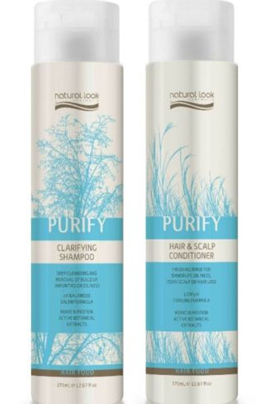 Natural Look Purify Shampoo & Conditioner 375ml
