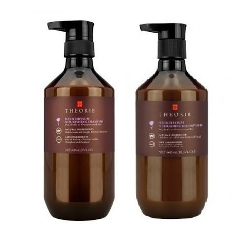 Theorie Helichrysum Nourishing Hair Shampoo and Conditioner 400mL