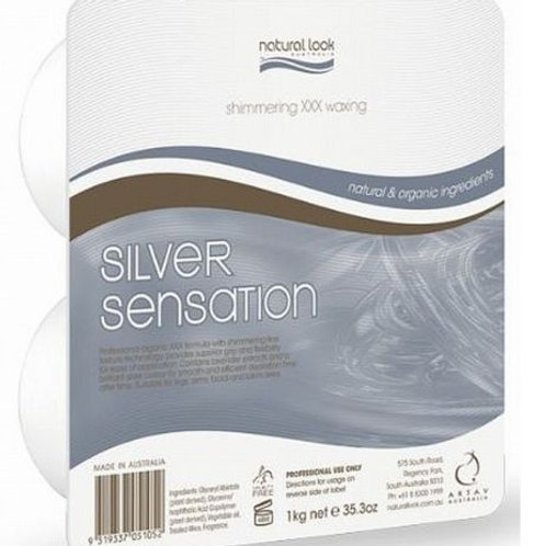 Natural Look Silver Sensation Hard Depilatory Wax