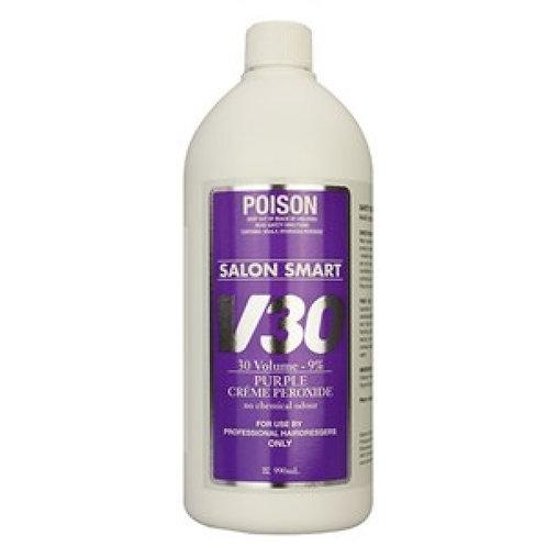 Salon Smart Creme Purple Peroxide 990mL 30 Vol 9%