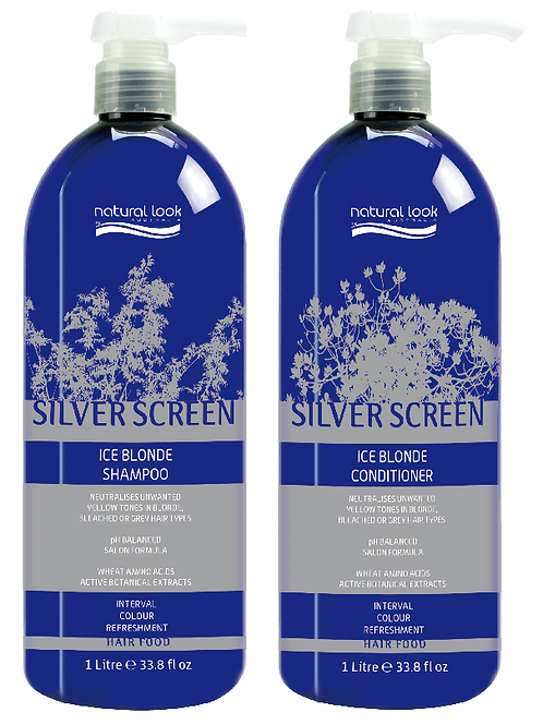 ATV Silver Screen Shampoo & Conditioner 1L