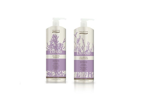 Natural Look Volumizing Shampoo & Conditioner 1L