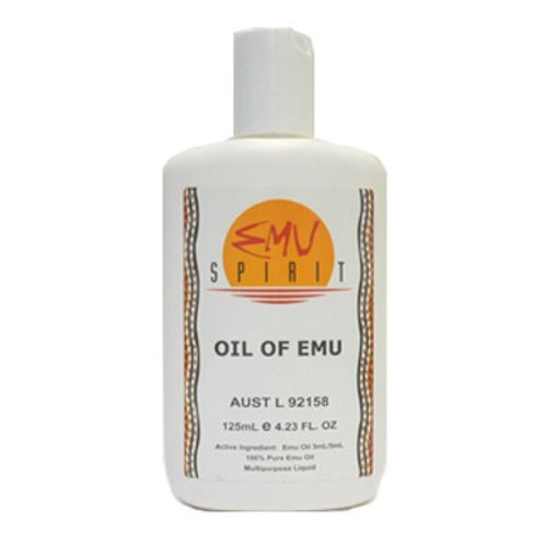 AUSTRALIA EMU SPIRIT 100% PURE Oil of Emu 125ml