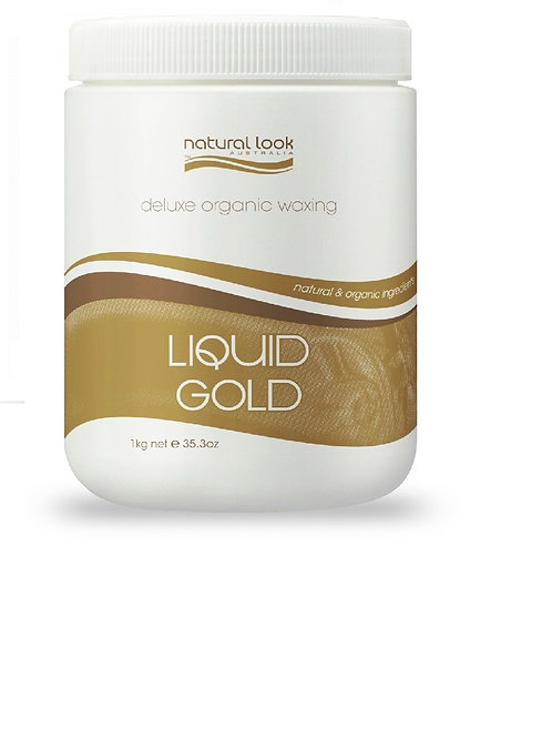 Natural Look Liquid Gold Depilatory Wax 1Kg