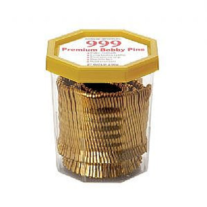 """999 Gold / Blonde Bobby Pins 2"""" 250g"""