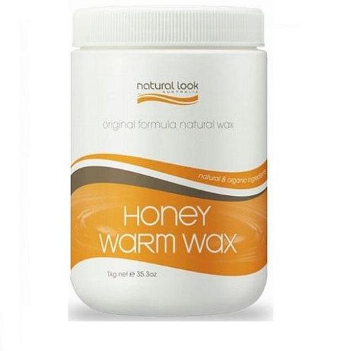 Natural Look Honey Warm Liquid Depilatory Wax 1Kg