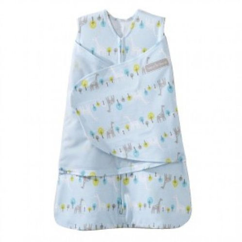 HALO Sleepsack Swaddle Small - Blue Giraffe