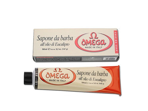 OMEGA Large 150ml Tube Shaving Cream